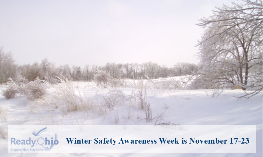 Winter Safety Awareness Week is November 17-23